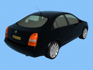 3D car models NISSAN PRIMERA