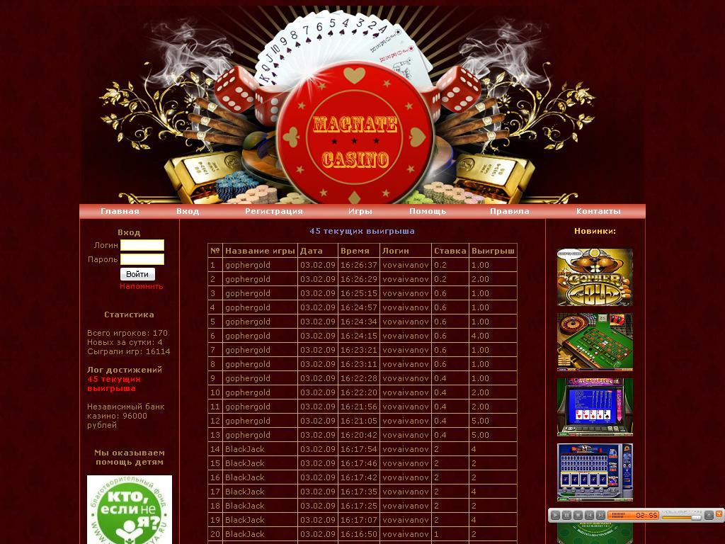 Адрес в москве казино фараон