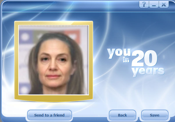 You want to see how it will look in 20 years