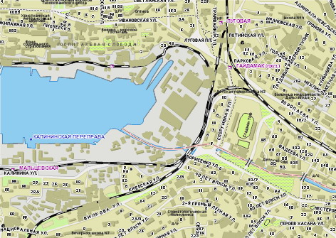 GPS Map Vladivostok
