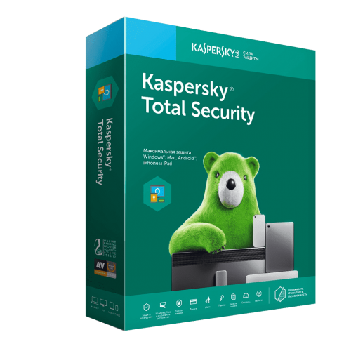 KASPERSKY TOTAL SECURITY 1 PC /1 Year NEW REGION FREE
