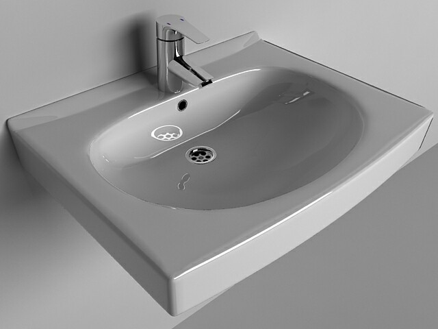 Sink Santek Pilot with mixer Grohe