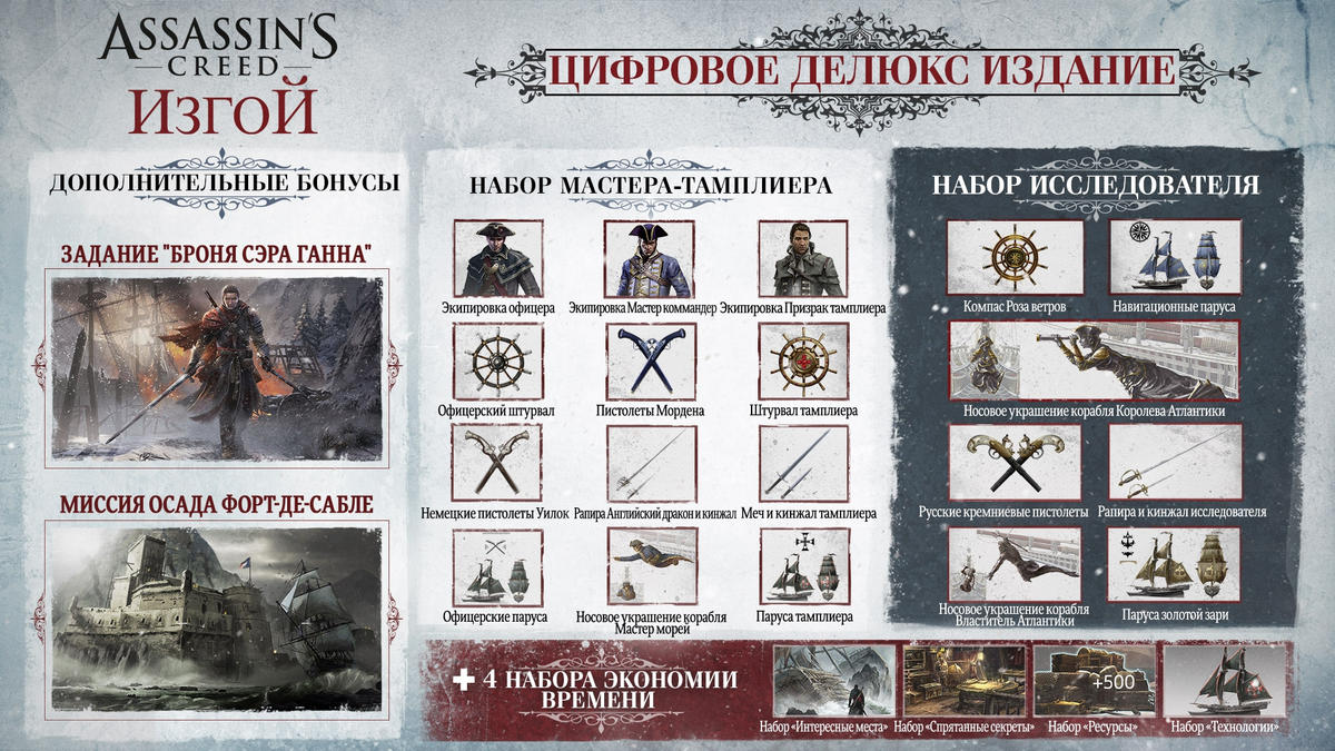 Assassins Creed Rogue DELUXE (Uplay) + BONUS