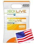 Xbox | USA | Prepaid Card | 4000 points (+ПОДАРОК)