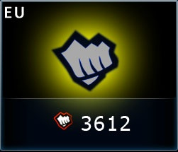 3612 Riot Points для League of Legends (EU)