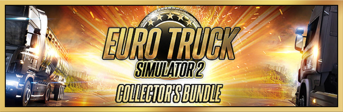Euro Truck Simulator 2 Collector´s Bundle (Steam Gift)