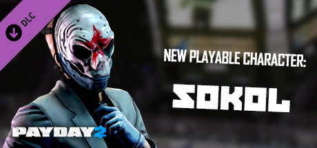PAYDAY 2: Sokol Character Pack - Steam Gift