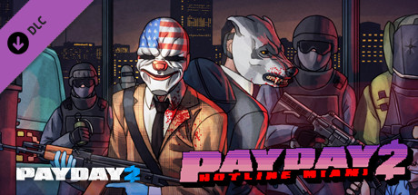 PAYDAY 2: Hotline Miami - Steam Gift