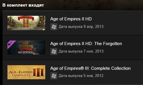 Age of Empires Legacy Bundle (Steam Gift/Region Free)