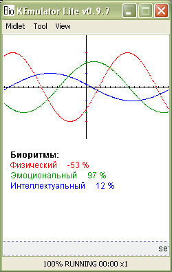 Biorhythm Mobile 240x320
