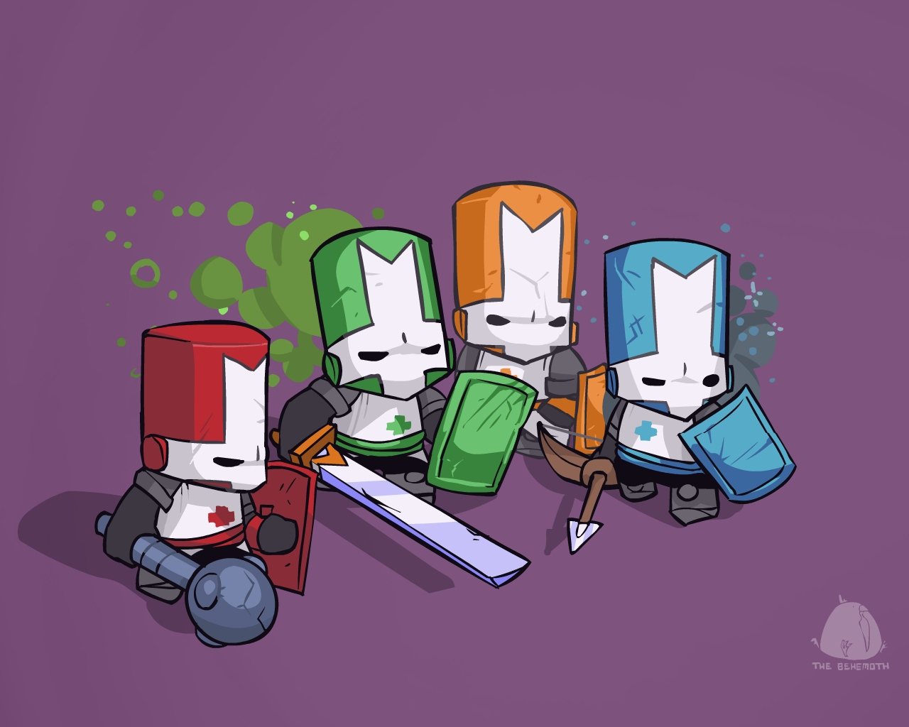 Castle Crashers (Steam Gift RoW-RU/CIS) + BONUSES