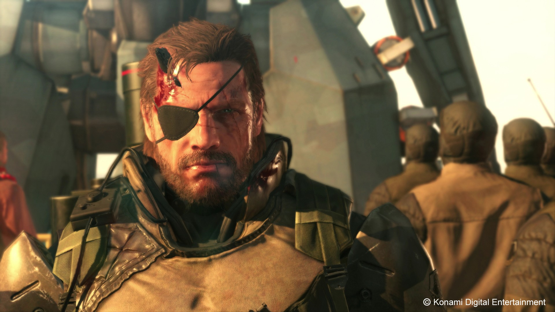 Скриншот  4 - Metal Gear Solid V:The Phantom Pain STEAM KEY СКАН