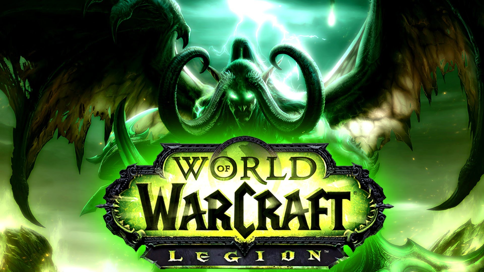 World of Warcraft LEGION +100 LVL RU SCAN