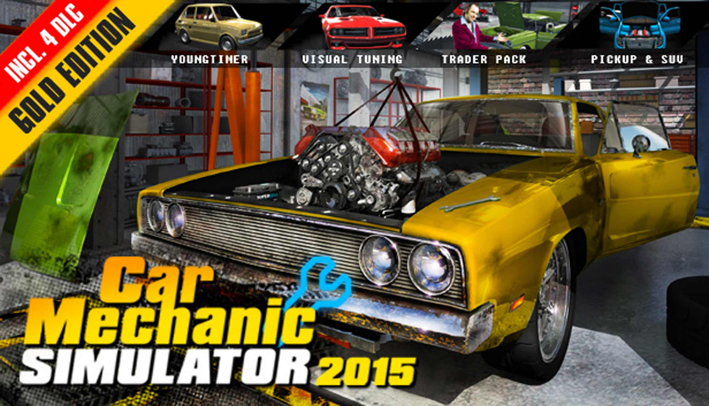 Car Mechanic Simulator 2015 Gold Edition Gift / RU+CIS