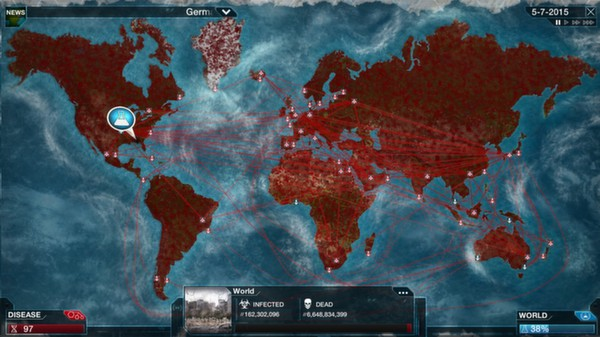 Plague Inc: Evolved ( Steam Gift / RU + CIS )