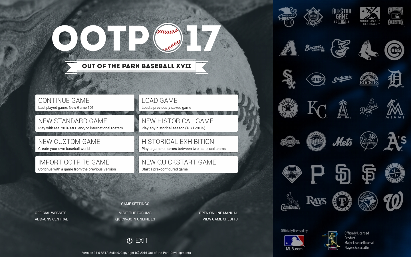 Out of the Park Baseball 17 (Steam Gift/RU+CIS)