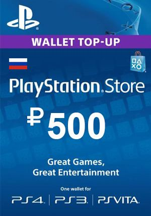 ✅ PSN 500 rubles PlayStation Network (RUS) ✅
