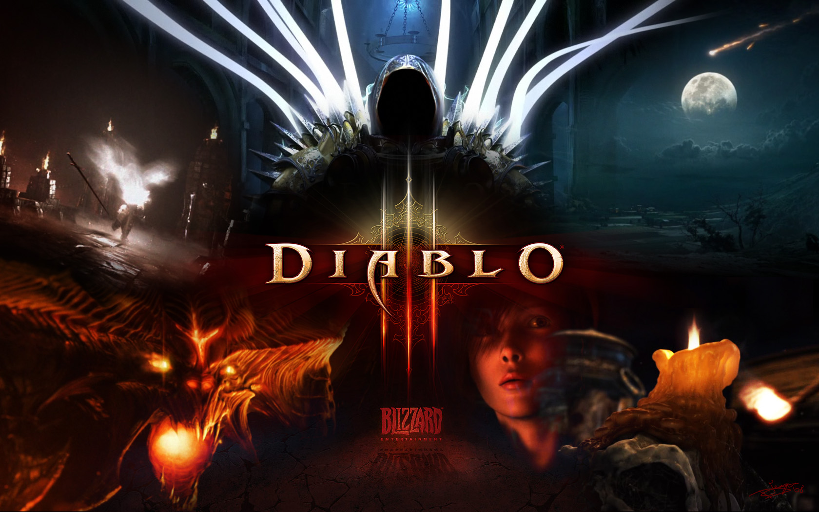 DIABLO 3 RU/EU- CD-KEY AVAILABLE (PHOTOS)