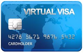 2200 rubles VISA VIRTUAL CARD (RUS Bank) Online Extract
