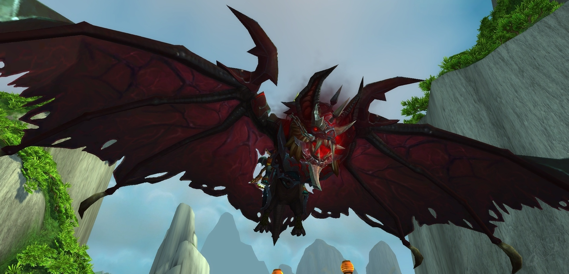 Armored Bloodwing EU mount WoW code
