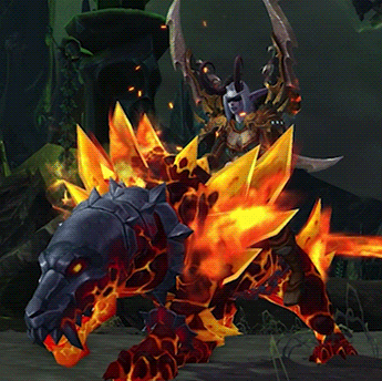 Primal Flamesaber wow new mount