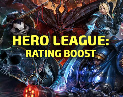 Hero League rating boost Heroes of the Storm