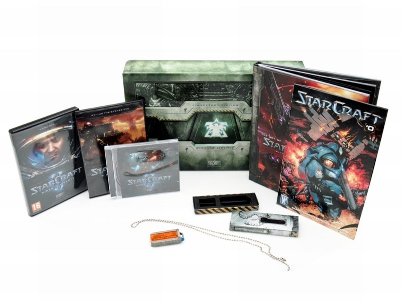2 Starcraft II Collector Edition. Shipping is included.