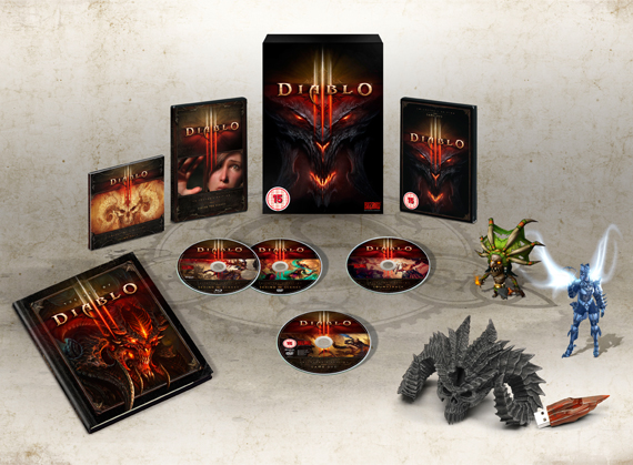 Diablo 3 III Collectors Edition. Shipping is included.