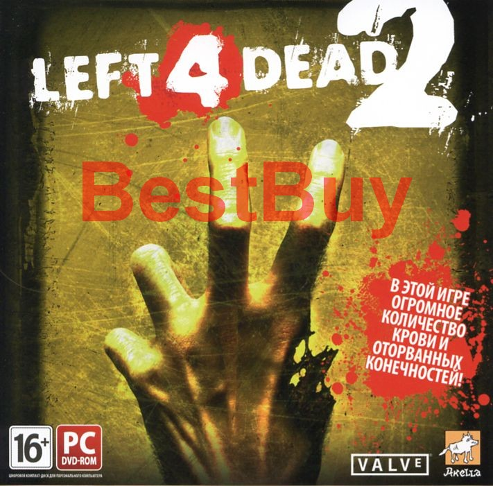 LEFT 4 DEAD 2 CD-Key ключ Steam от Акеллы (СКАН)