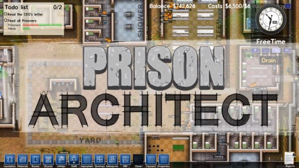 Prison Architect WHOLESALE PRICE STEAM KEY