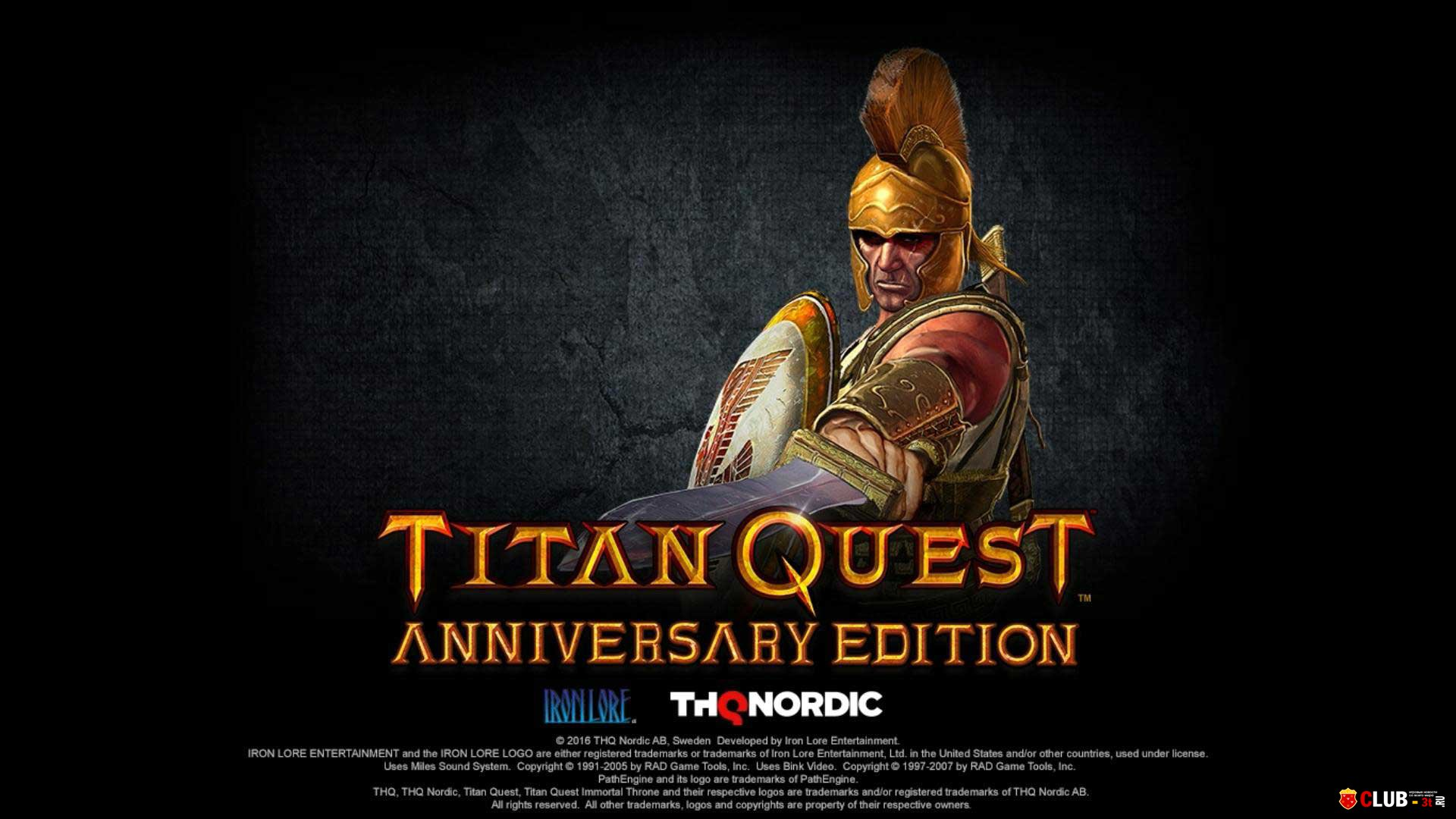Titan Quest Anniversary Edition (Steam) RU + CIS