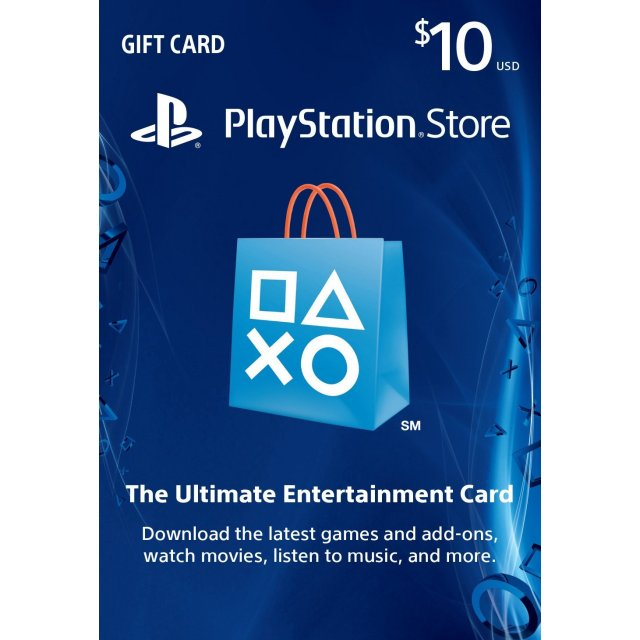 PSN 10$ USD PlayStation (USA)