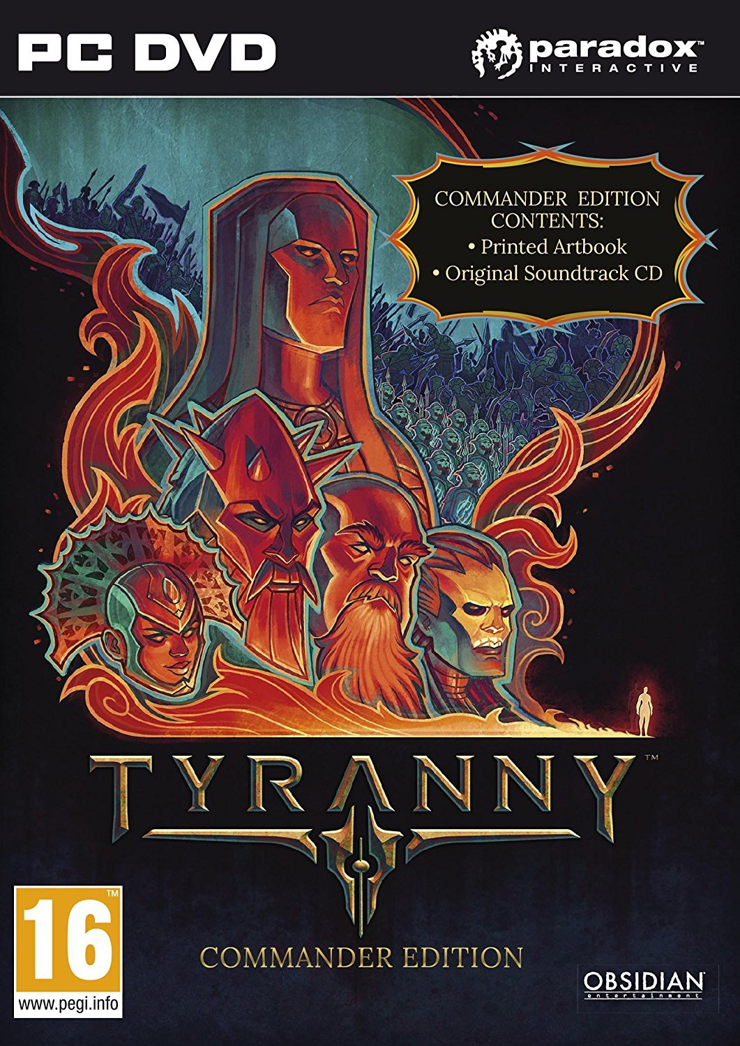 Tyranny - Commander Edition Steam KEY wholesale price