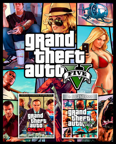 Grand Theft Auto V + Bonus Criminal Enterprise |PREMIUM