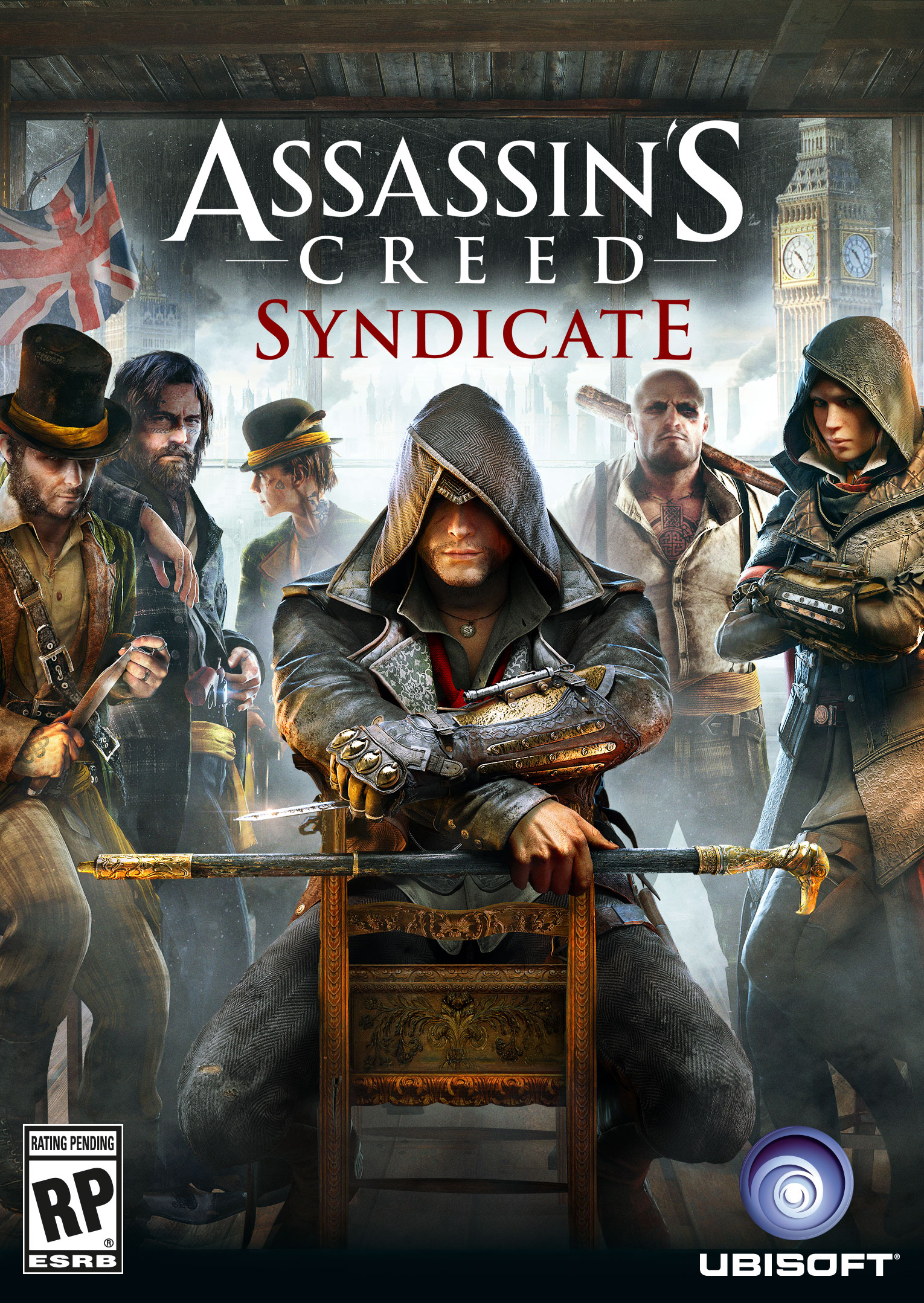 Assasins Creed Sybdicate+DLC  (Uplay-key)