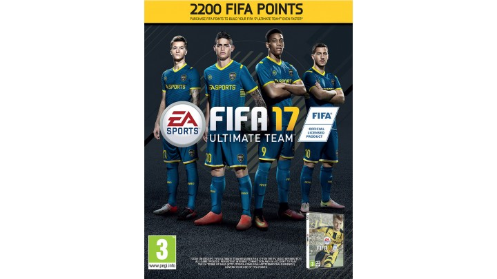 FIFA 17: Ultimate Team. FIFA Points 2200 (Origin key)