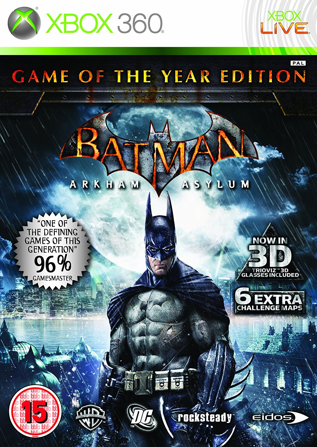 Batman: Arkham Asylum GOTY Region free Wholesale Price