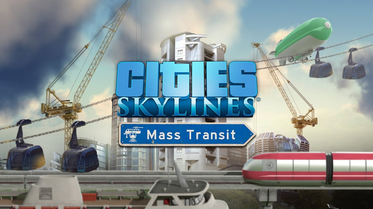Cities Skylines: Mass Transit DLC Официальный Ключ