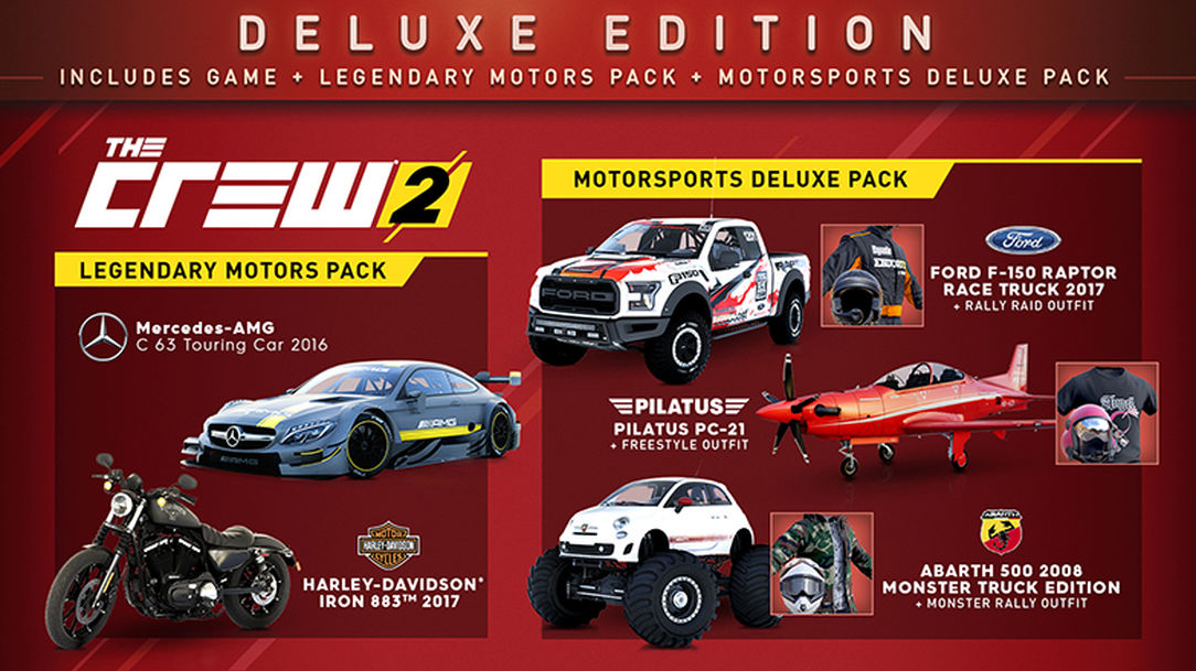 The Crew 2: Deluxe Edition and Preorder Bonus (UPLAY)
