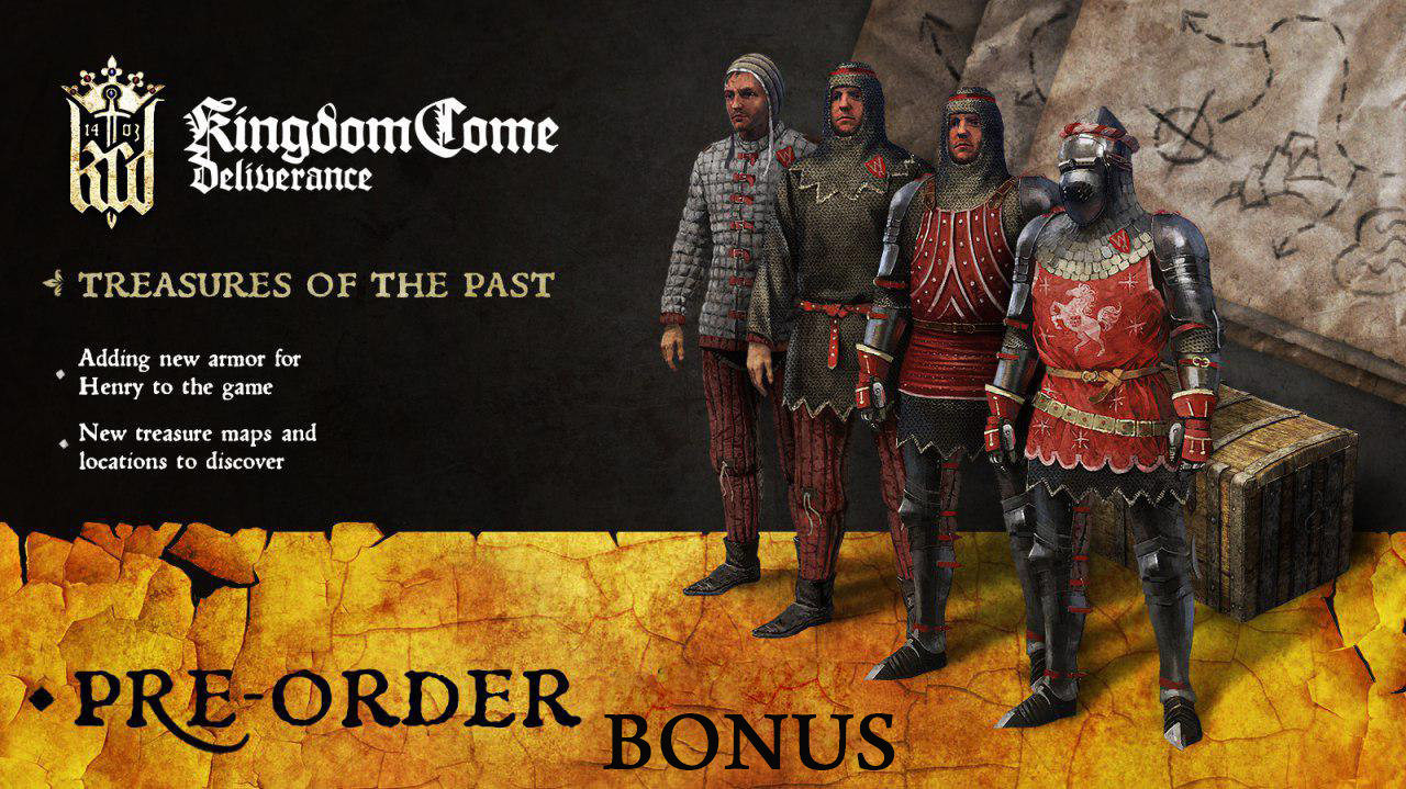 DLC Treasures of the Past for Kingdom Come