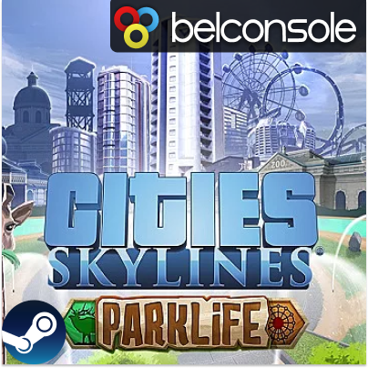 Фотография cities: skylines - parklife dlc оригинальный ключ steam