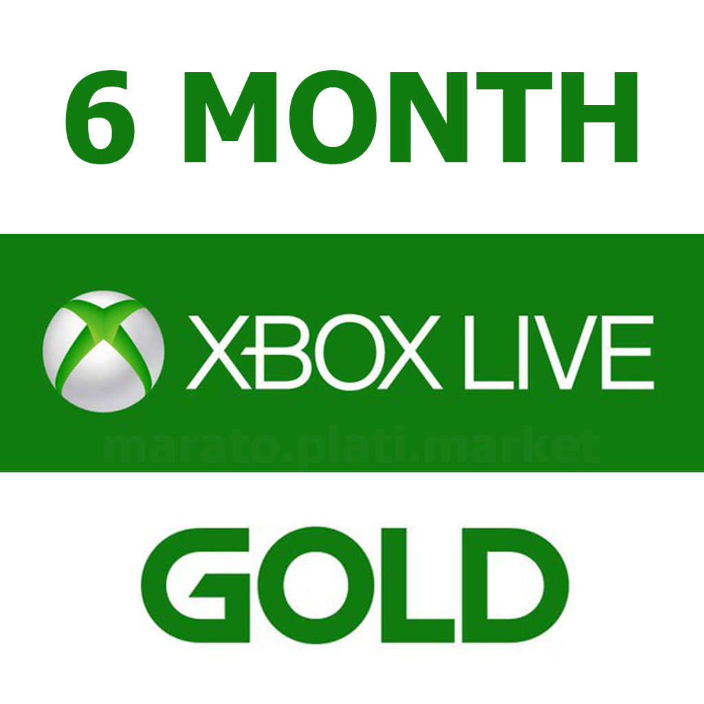Xbox Live Gold 6 Months Wholesale Price Official Key RU