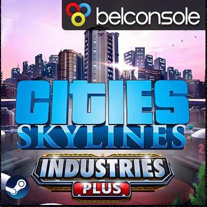 Фотография cities: skylines - industries plus оригинальный ключ