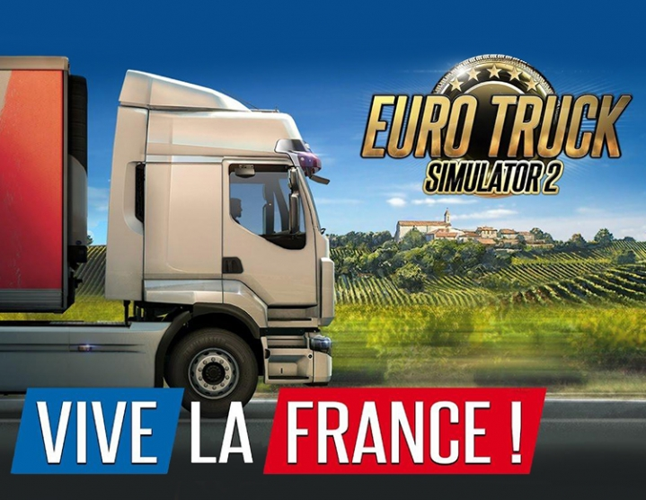 Euro Truck Simulator 2 Vive la France DLC Key Wholesale