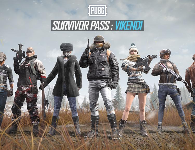PLAYERUNKNOWNS PUBG Survivor Pass Region Free Steam Key
