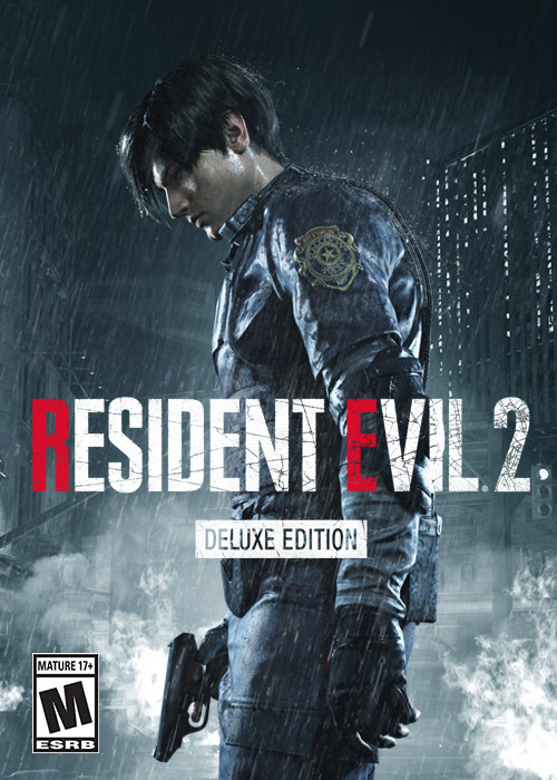 RESIDENT EVIL 2 BIOHAZARD RE 2 Deluxe Wholesale Key