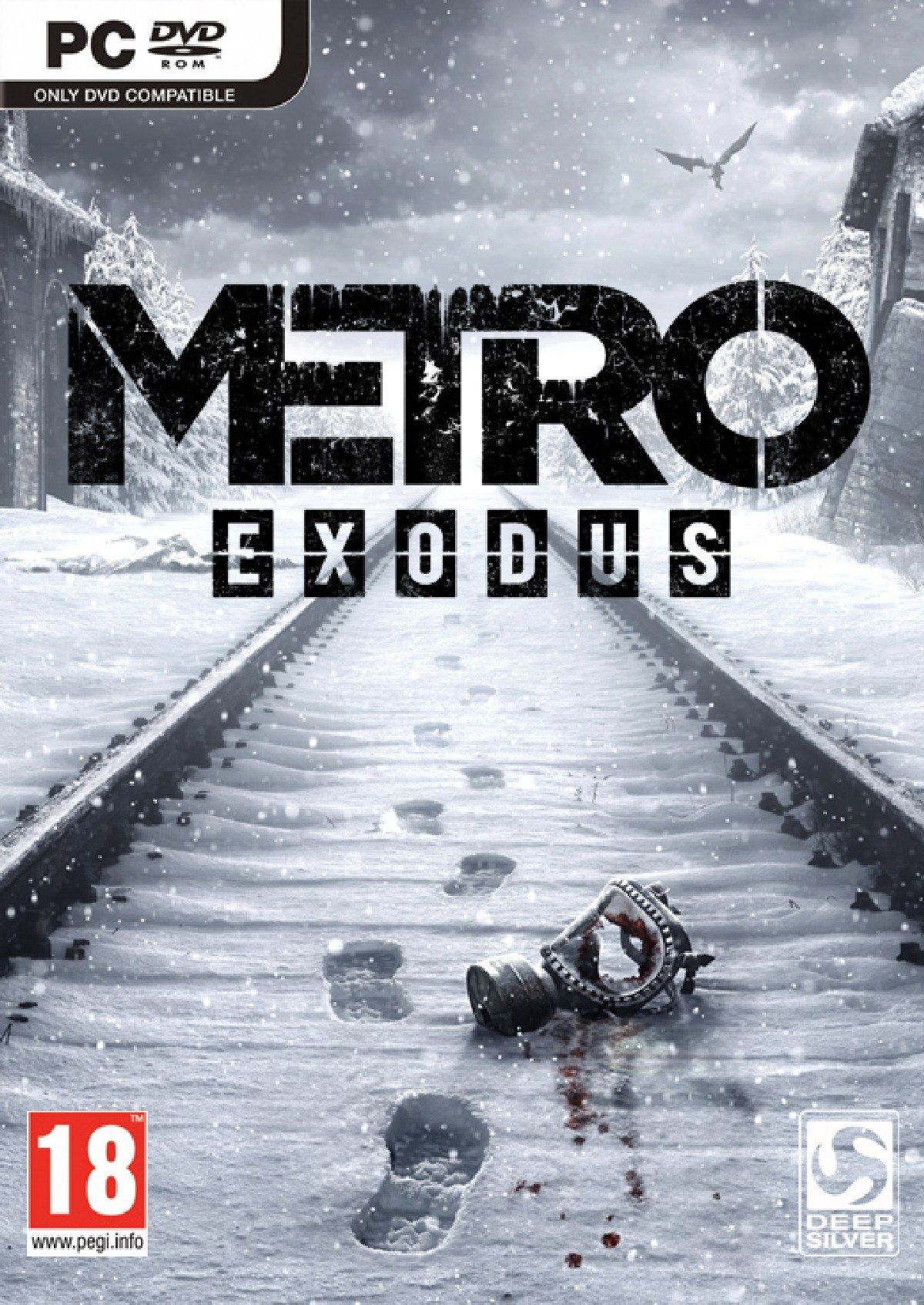 Metro Exodus (photo DVD-BOX) WHOLESALE + BONUS + GIFT