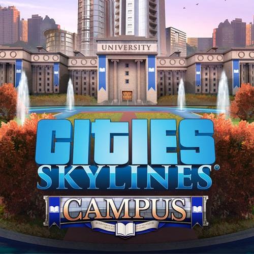 Фотография cities: skylines - campus dlc оригинальный ключ