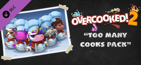 Overcooked! 2 - Too Many Cooks REGION FREE Wholesale