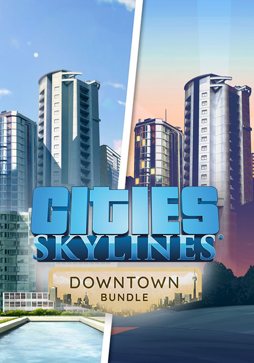 Cities Skylines Modern City+Downtown Radio (Bundle)